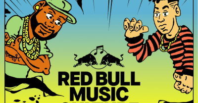 Zaytoven, Mija, Kenny Beats, Kranium, and Fuego performing at 2018 Red Bull Music Culture Clash