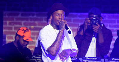 YG has launched a countdown on his website