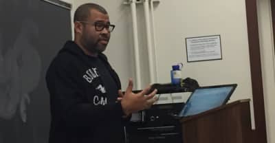 Watch Jordan Peele surprise college students studying Get Out