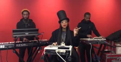 "Watch Erykah Badu Perform ""On & On"" During A Live, Impromptu Session"