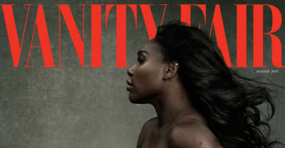 Serena Williams And Her Baby Bump Are The New Vanity Fair Cover Stars