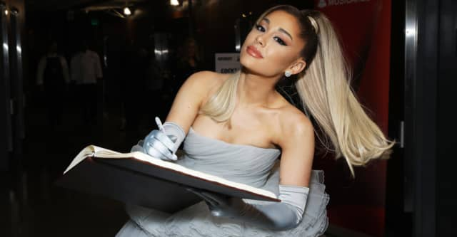 """Ariana Grande's """"34+35"""" remix featuring Megan Thee Stallion and Doja Cat is out tonight 1"""