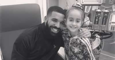 Drake visited a young fan awaiting a heart transplant in Chicago