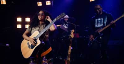 "Watch H.E.R. perform ""Carried Away"" on The Late Late Show"