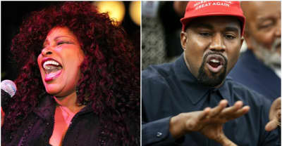 "Chaka Khan, sampled on Kanye West's ""Through The Wire,"" calls the song ""stupid"""
