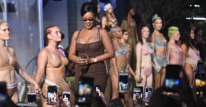 Watch Rihanna's lingerie fashion show Savage x Fenty