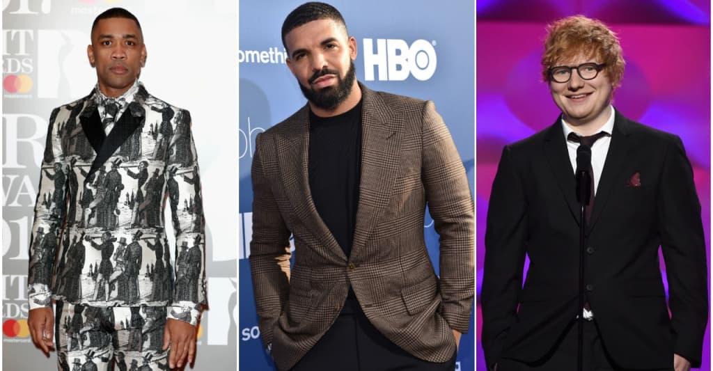 """Wiley targets """"pagan"""" Drake and """"culture vulture"""" Ed Sheeran during radio call"""