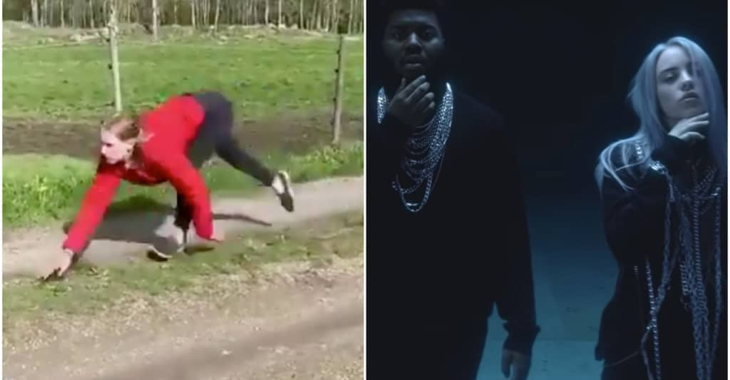 "Have Billie Eilish and Khalid seen this video of a horse-woman galloping to ""lovely?"""