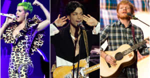 Prince really didn't like Ed Sheeran or Katy Perry, according to his memoir