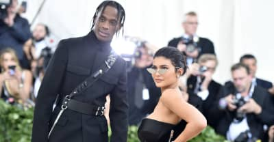 New Travis Scott music appears in a Kylie Jenner cosmetics ad