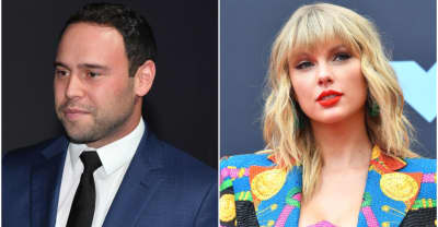 "Scooter Braun shares open letter to Taylor Swift, claims his family has received ""numerous death threats"""