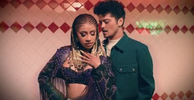 "Cardi B and Bruno Mars share ""Please Me"" video"