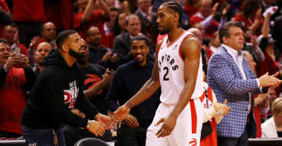 Drake is reportedly offering Kawhi Leonard a role in OVO Sound to stay with the Raptors