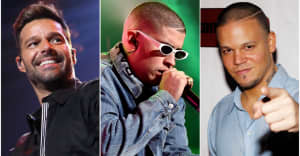 "Ricky Martin, Bad Bunny, and Residente team up for ""Cántalo"""