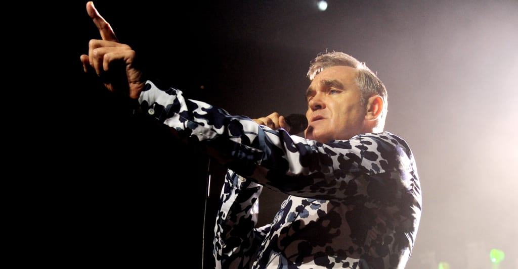 """""""Beware of those who write in headlines:"""" Morrissey shares statement after outrage over far-right support"""