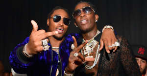 Young Thug and Future are working on Super Slimey 2 with Lil Baby and Gunna