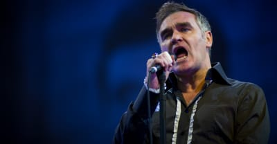 Morrissey shows solidarity with far-right British group during Tonight Show performance
