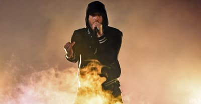 "Report: Eminem interrogated by the Secret Service over Trump ""threat"""