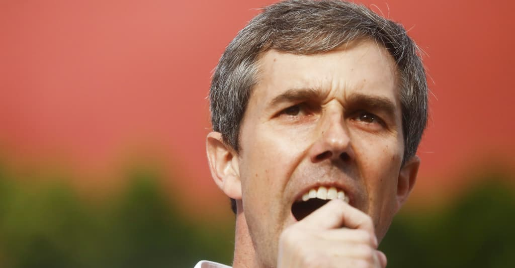 """Beto O'Rourke's alleged Spotify account has a """"PUMP UP SONGS"""" playlist with Juice WRLD and Gunna"""