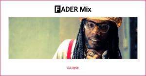 FADER Mix: DJ Jigüe
