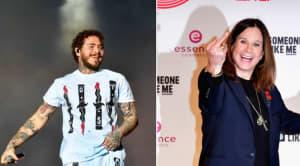 Watch Post Malone duet with Ozzy Osbourne