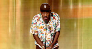 "Tyler, the Creator urges people to vote: ""I know them lines gon' be long, but please do that."""
