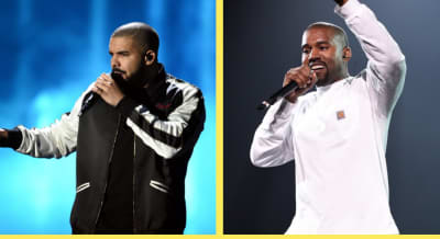 """Kanye West on Drake: """"It ain't no beef... We all got love for Drake."""""""