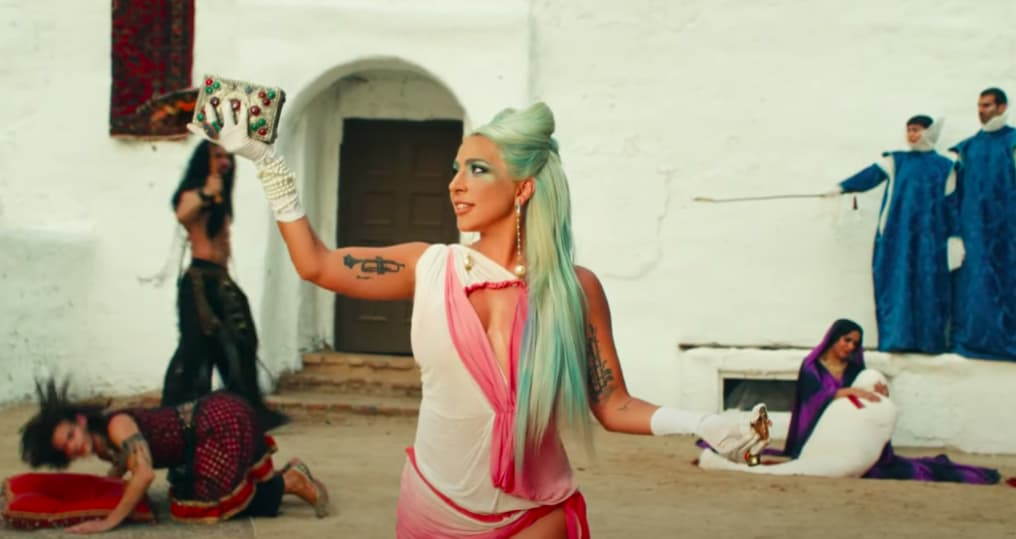 """Watch Lady Gaga channel an arthouse oddity in her new """"911"""" video"""