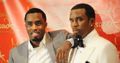 Diddy's wax figure has been decapitated