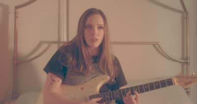 "Hear Soccer Mommy's cover of Bruce Springsteen's ""I'm On Fire"""