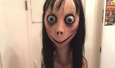 The Momo challenge is being turned into a horror film