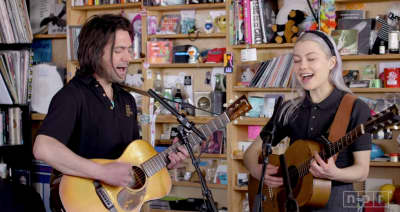 "Better Oblivion Community Center play NPR's Tiny Desk Concert, share single ""Little Trouble"""