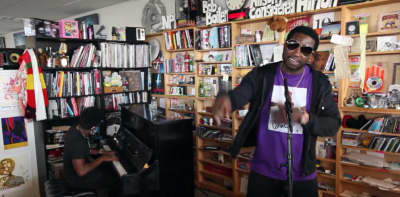 Watch Gucci Mane And Zaytoven's NPR Tiny Desk Concert