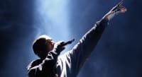 "Kanye West says he is the 'greatest artist that God has ever created"" at Joel Osteen service"