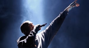 """Kanye West says he is the 'greatest artist that God has ever created"""" at Joel Osteen service"""