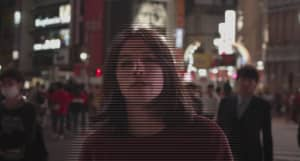 "Sen Morimoto is a Shibuya hologram in his new ""Daytime But Darker"" video"