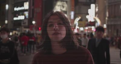 "Sen Morimoto is a Shibuya hologram in his new ""Daytime But Darker"" video"