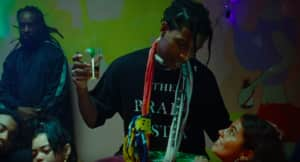"A$AP Rocky drops new song and video ""Sundress"""