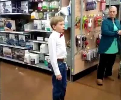 Please don't taaAaAake the Walmart yodel boy away from me