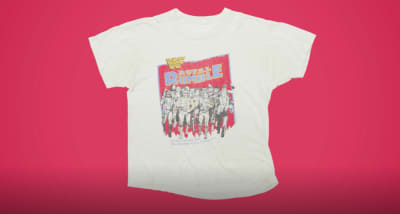 Your old wrestling t-shirts could be worth a lot of money