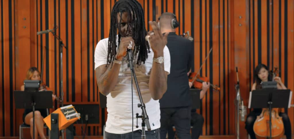 "Watch Chief Keef perform ""Faneto,"" ""Love Sosa,"" and"