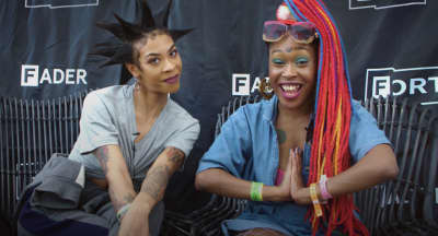 Watch Rico Nasty and Bbymutha interview each other