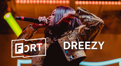 Dreezy was magnetic at FADER FORT