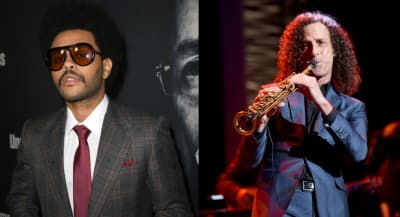 "The Weeknd shares new ""In Your Eyes"" remix alongside Kenny G"