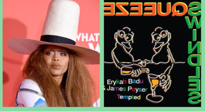 "Hear Erykah Badu and James Poyser's silken cover of ""Tempted"" by Squeeze"