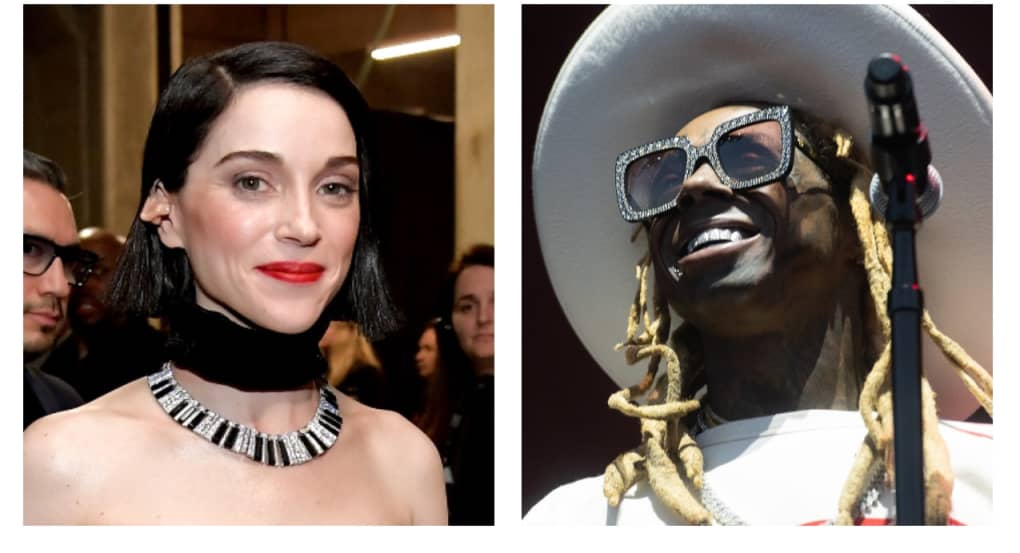 Lil Wayne and St. Vincent have nearly identical astrological charts