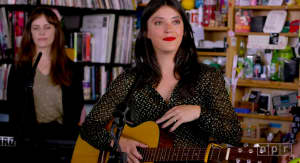 Watch Sharon Van Etten return to NPR's Tiny Desk
