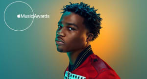 Watch Roddy Ricch's performance at the 2020 Apple Music Awards