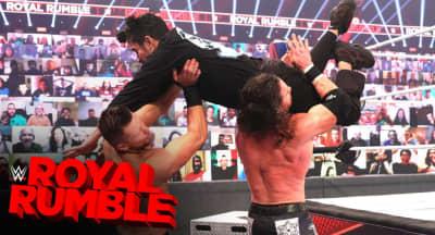 Watch Bad Bunny make his WWE Royal Rumble debut
