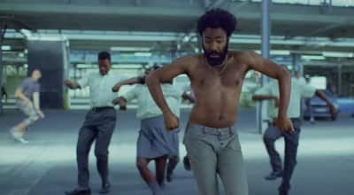 "Watch Childish Gambino's video for his new song ""This Is America"""